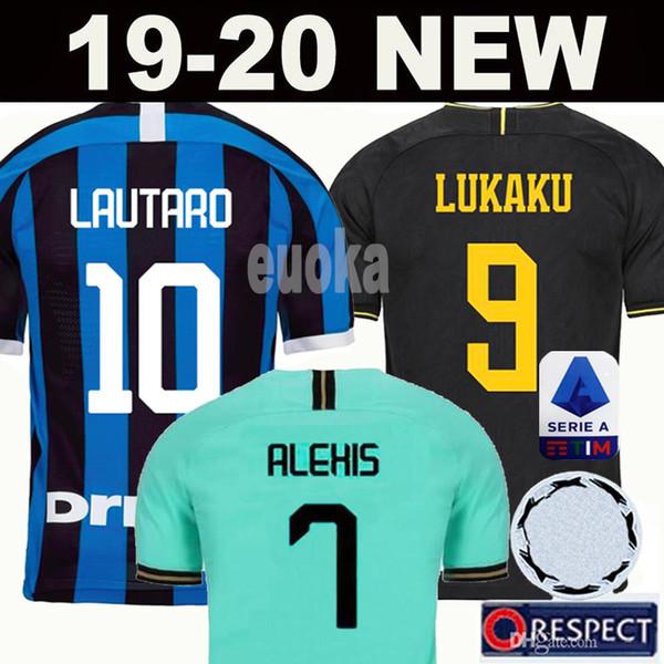 19 20 Inter soccer jersey LUKAKU LAUTARO ICARDI PERISIC NAINGGOLAN milan football shirt inter 20 anniversary 2019 2020 POLITANO maillot de foot