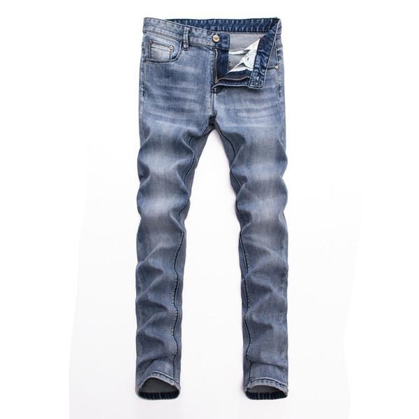 Джинсы мужские Bottoms Tooling джинсовые 2019 новинка тенденция Slim Fit Комфорт 621