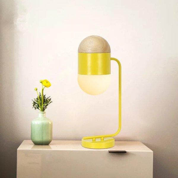 Acheter Belle Chambre Enfants Led Jaune Lampe De Table Ampoule Led E14 90 260v Lampe De Chevet Lit Lumieres Salon Decoration Eclairage Art Deco De