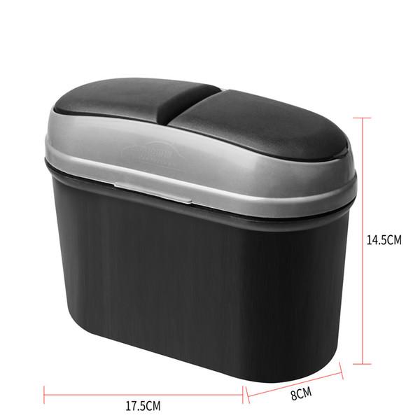 Interior Car Acccessories Multi-function Storage Box Rubbish Garbage Trash Case