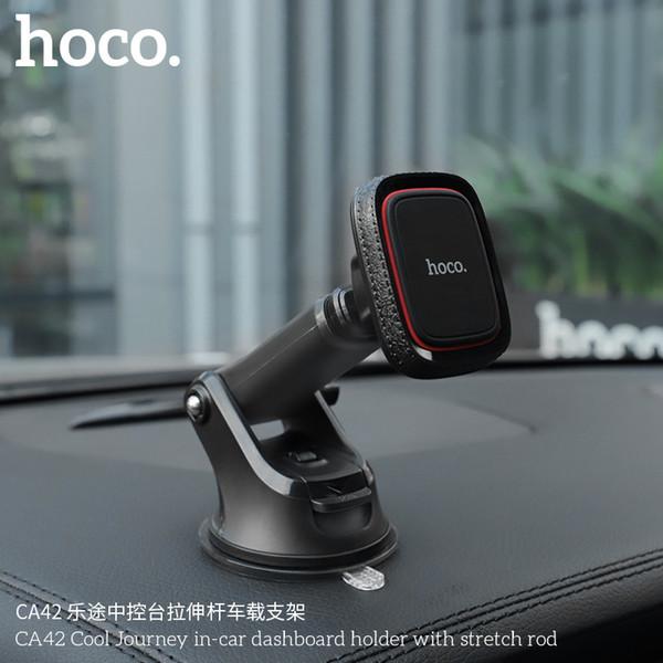 CA42 Support mobile pour cadre de navigation de voiture avec support pour barre de tension de la console centrale