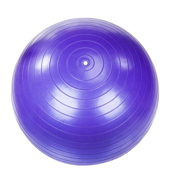 85cm Gym Household Explosion-proof PVC Thicken Yoga Ball Smooth Surface Purple Color for Fitness Supplies New