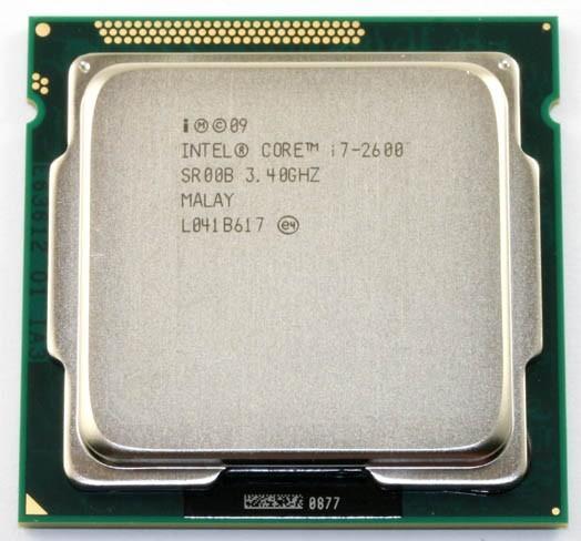 Intel Core i7 2600 3.4GHz Quad Core Processor 8MB 5GT/s SR00B LGA 1155 SOCKET i7-2600