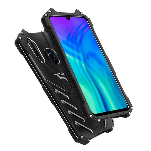 R-JUST Metal case for Huawei Honor 20i aluminum Shockproof Drop-proof Cover case Armor anti-knock phone cases RJ01