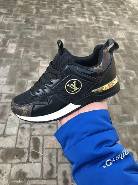 2019 Yeni Spor Koşma Koşu Ayakkabıları Erkekler Kadınlar Low Cut Rahat Ayakkabılar İtalya Marka Tasarımcısı Sneakers Loafers 36-45