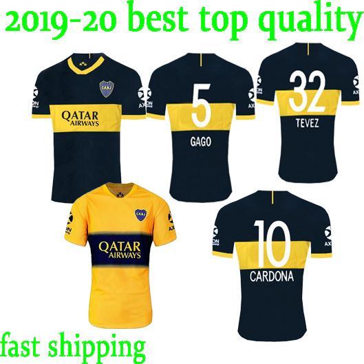 fast ship 2019 2020 Boca Juniors Jersey Home Away 19 20 Boca Juniors GAGO OSVALDO CARLITOS PEREZ P sports football shirt