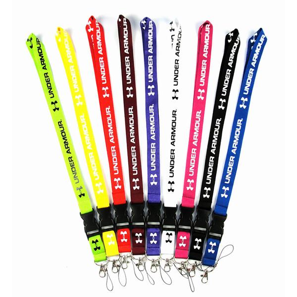 Heiße Verkaufs Art und Weise Marke Lanyard Handy-Bügel-Kette String mit Klipp-ID-Karte SUP Lanyards für iPhone Samsung