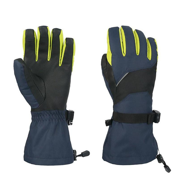 Unisex Waterproof Ski Touch Screen Gloves Windproof Snowmobile Snowboard Winter Warm Thermal Skiing Gloves Z65