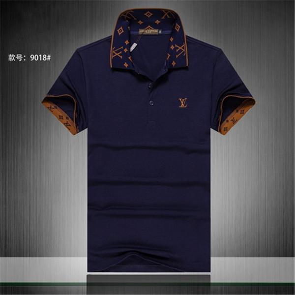 sommer 18ss designer tag schlange druck kleidung männer stoff brief polo g t-shirt kragen casual frauen t-shirt t-shirt tops 998
