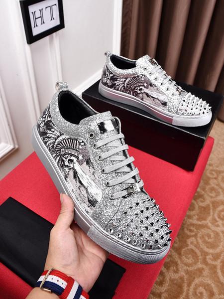 2019 новый роскошный дизайнер модной женской обуви с высоким верхом Повседневная обувь 2019 новый роскошный дизайнер модной обуви супер звезда ht19012805
