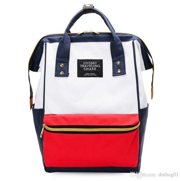 Crary2019 Pink 13 Colors Student Designer Handbags Pu Leather Laptop Backpack Tote Cross Body Ladies Zipper Shoulder Bag