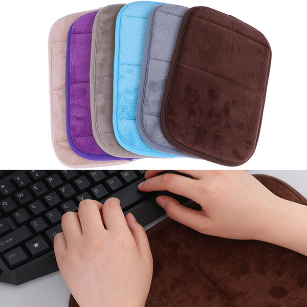 Ultra-Speicher Cotton Keyboard Pad Soft-Sweat-absorbierende Anti-Rutsch-Handgelenk-Elbow-Matten-Auflage für Office Desktop Computer-Tabelle 20 * 30cm