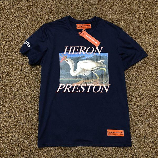 19ss t-shirt fashion HERONs t-shirt stampata per donna uomo designer t-shirt street spedizione gratuita Europa S-XL 003