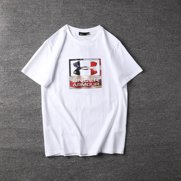 Unter T-Shirt Mens Designer T-Shirt USA Flut Marke hochwertige T-Shirts Box Brief Stickerei T-Shirt Street Womens klassische wilde Shirt 004