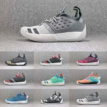 James Harden 2 Vol.2 Chaussures de basket-ball Hommes Harden 2.0 Entraîneurs Finale MVP Hommes Designer Sport Sneakers Taille 40-46