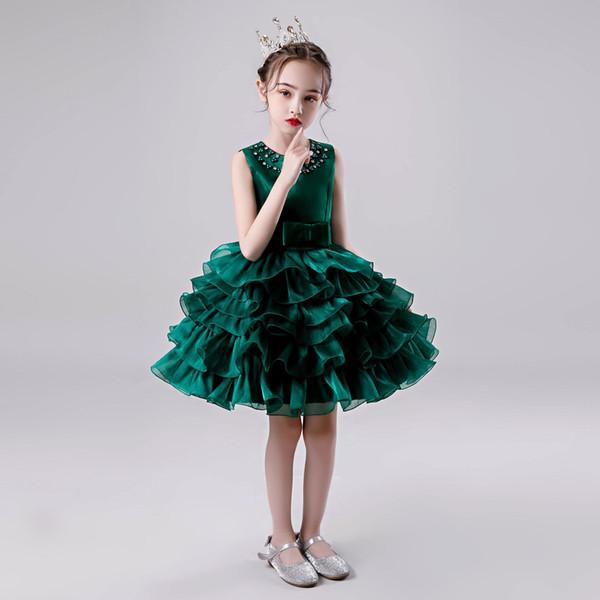 top popular G5 New summer children's clothing children's dress princess skirt girls vest 2021