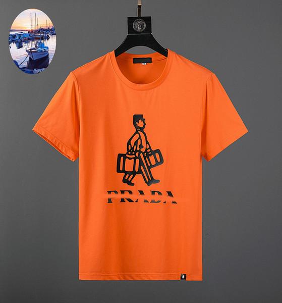 Lauren camisas dos homens T famoso designer de homens T shirt nova moda quente verão Tshirts qualidade algodão caráter impressão tshirt Lazer rua T-shirt