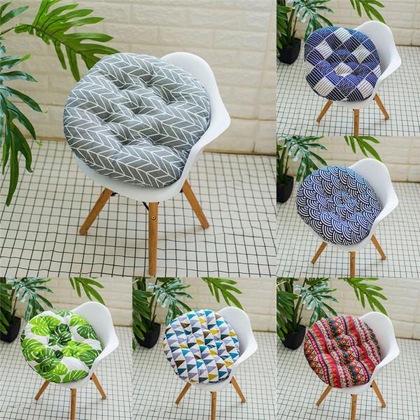 Außen Garten Innenhof Haus Küche Büro-Sofa-Stuhl-Sitz weichen Kissen-Auflage-Perlen-Baumwolle 400 x 400 x 50 mm Sitzkissen # 30