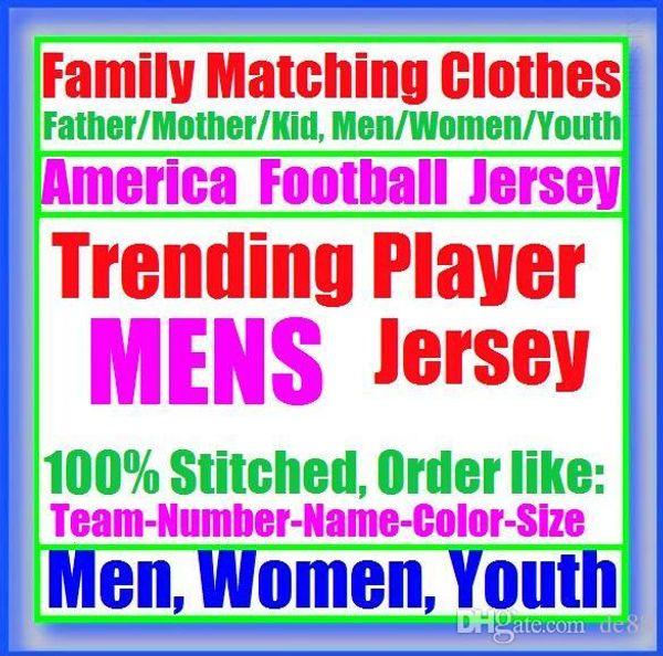All Stitched Custom american football jerseys Carolina Chicago college authentic cheap baseball basketball mens womens youth USA 4xl tshirts