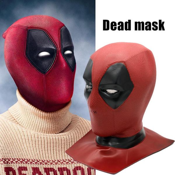 Хэллоуин Marvel Heroes Dead 2 Deadpool Новые маски шлем Маска Cosplay Реквизит Deadpool маска шлем Головной убор