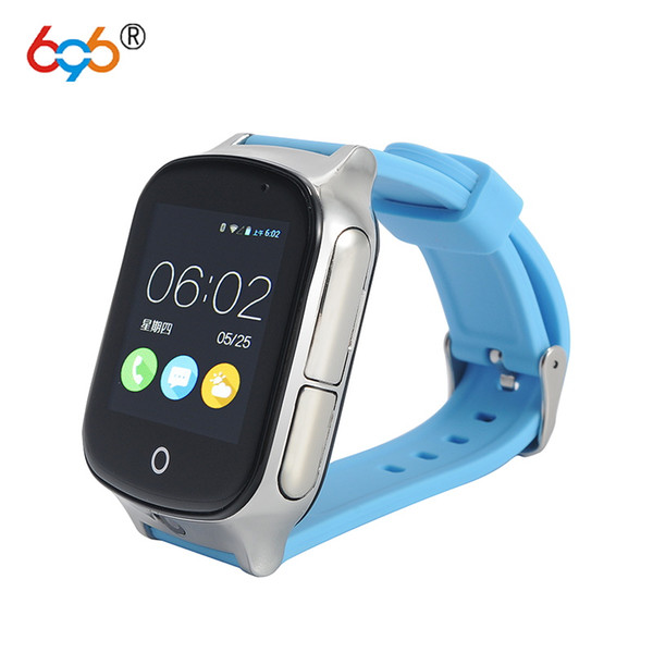 696 Smart watch Kids Wristwatch A19 3G WIFI GPS Locator Tracker Smartwatch Baby Watch With Camera For Android Phone