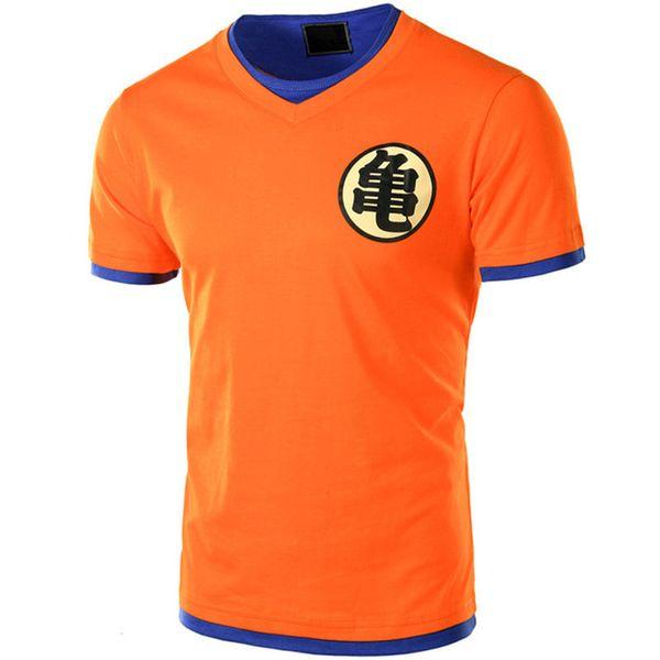Europe Taille Dragon Ball T-Shirt Hommes D'été Dragon Ball Mens Slim Fit Cosplay 3D T-shirts Casual Coton Tshirt Homme Chine Japon dessin animé