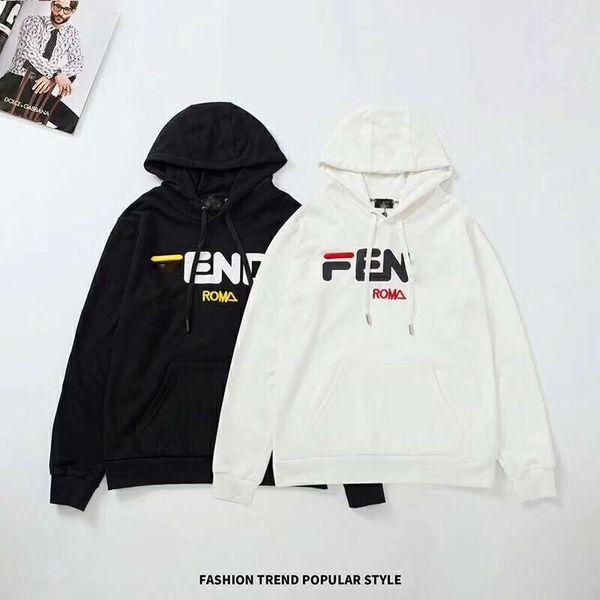 best selling NEW Hoodies Mens Designer Long Sleeve Sweatshirts Hoodie fashion Brand Top T Shirts Autumn Spring men black white luxury clothing Size M-2XL