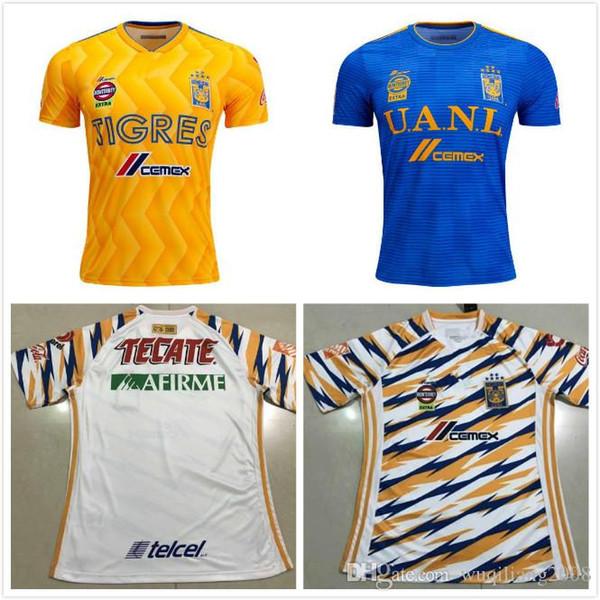 4360f2a03 new 2018 2019 Tigres UANL soccer jerseys thai quality Men kit 18 19 Mexico  club