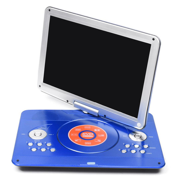 16 Portable Evd Tft Tv Dvd Player Lcd Usb Sd Card Cd Fm
