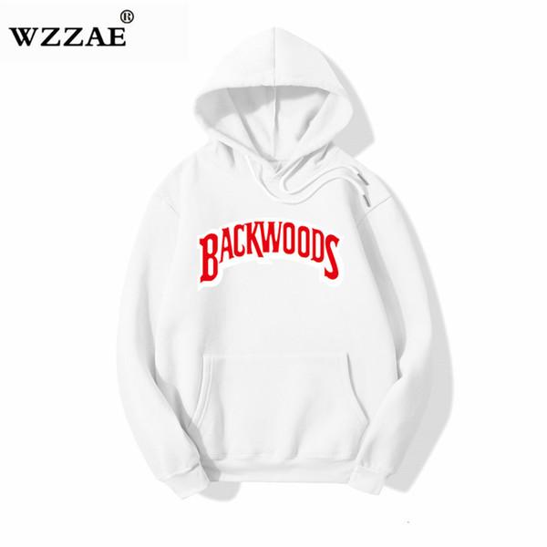 Japonais Streetwear Backwoods Sweats à capuche Sweat-shirt Hip Hop Mode Automne Hiver Hommes Sweats à capuche 100% coton à capuche Pull SH190925