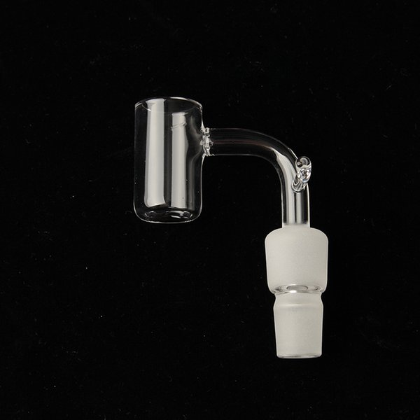quartz enail Banger Dual joint with stick 14mm 18mm double head female male Double Tube Quartz Nail for Dab rigs glass bongs