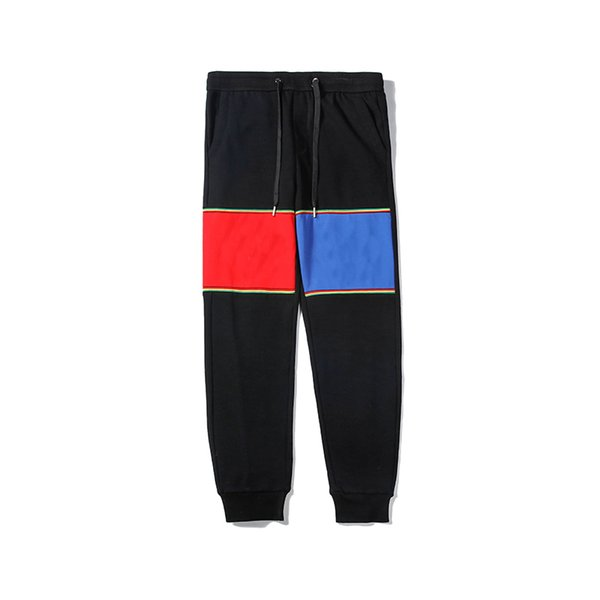 Designer Men Pants L Letter Sports Pants V Letter Asual Men Fashion Hot Sale Sports Jogger Pants 2019 New Arrival Mens Brand Sports