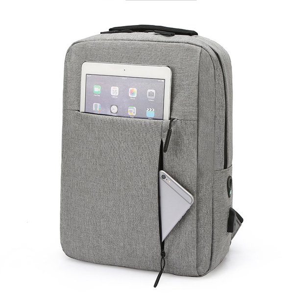 "15.6/"" Anti-Theft Men Waterproof Laptop Backpack USB Charging School Travel Bag"