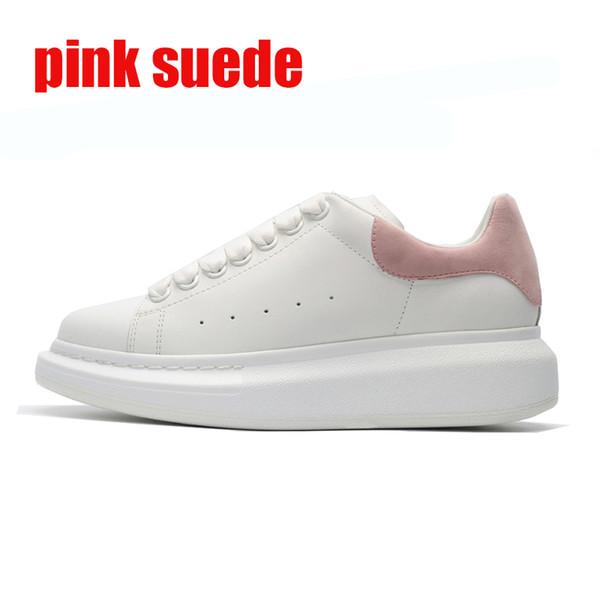 розовые замшевые 36-39