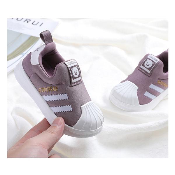 Çocuklar Tasarımcı Sneaker Rahat Ayakkabılar Erkek Marka Erkek Kız Gençler Spor Ayakkabı Yumuşak Alt Sneaker Childs Lüks Ayakkabı -