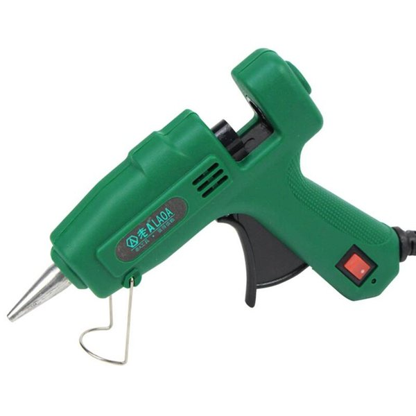 25W Hot Melt Glue Gun with Glue Stick Mini Guns For Metal/Wood Working Stick Paper Guns Thermo Electric Heat Tool