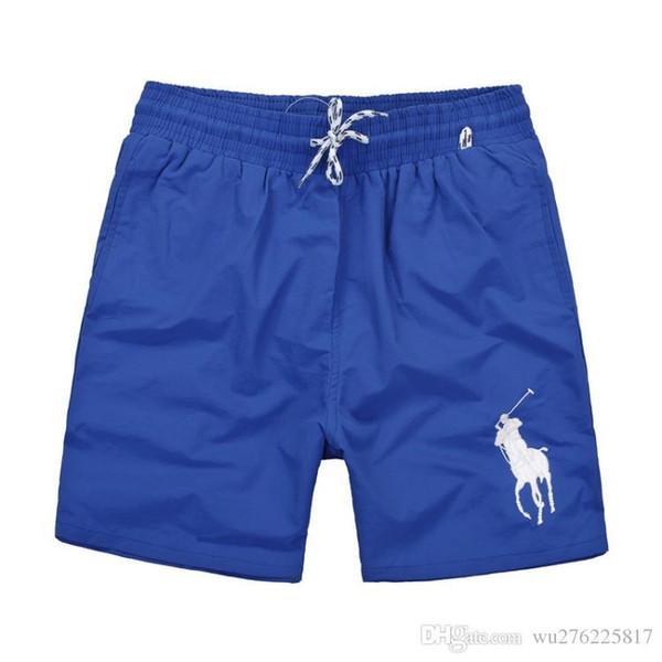 Wholesale-Summer Men Short Pants Brand Clothing Swimwear Nylon Men Brand Beach Shorts Small horse Swim Wear Board Shorts