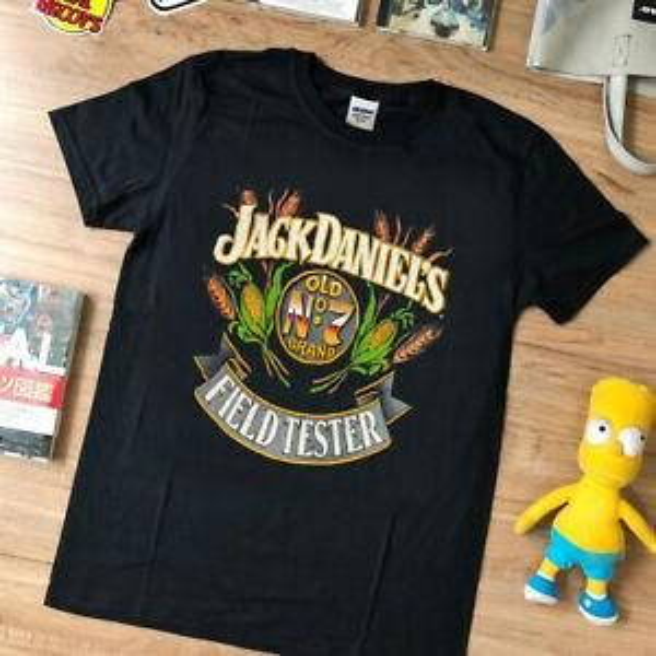 Vtg rare -t shirt Jack Daniels Field Tester 1989 Single Stitched Whiskey reprint