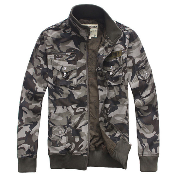 Men Military Army jackets Brand 2017 Hot cost outerwear embroidery mens jacket for aeronautica military