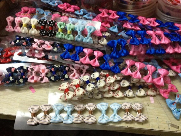 Handmade Designer Dogs accessories pet Dog Bows Dog Grooming Hair Bows Doggie Boutiqu