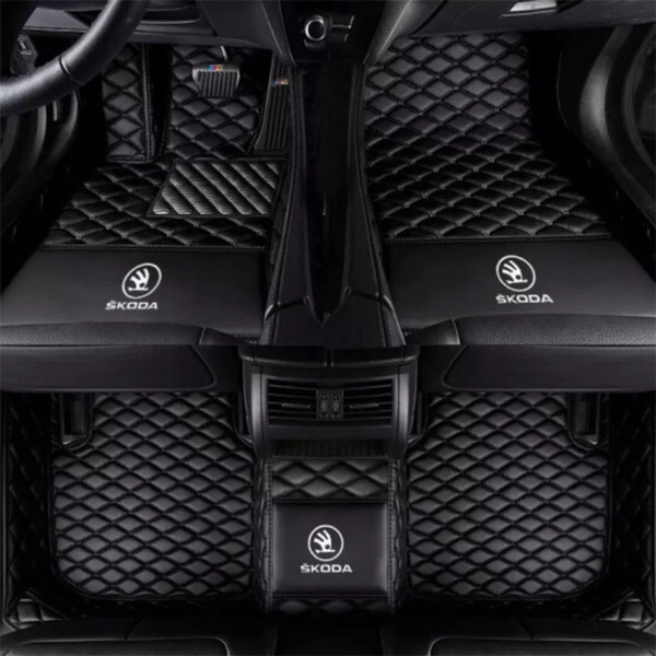 Applicable SKODA Fabia 2008-2017 Car anti-slip interior mat environmentally friendly tasteless non-toxic mat