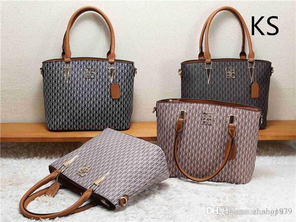 2019 estilos Handbag nome famoso Moda Couro Bolsas Mulheres Tote Bolsas de Ombro Lady couro bolsas bolsas bolsa KS8826-3