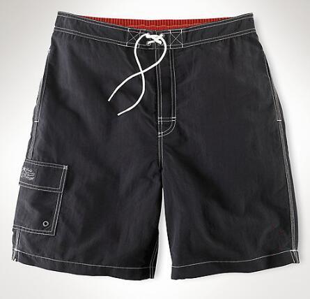 Sınırlı 2019 Erkekler Katı Rahat Şort Küçük Midilli Cep Pamuk Erkek Plaj Kısa Pantolon Kurulu Mayo Hızlı Kuru Moda Gövde Ordu Yeşil