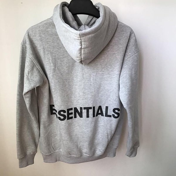 Sweat à capuche gris (H1104)