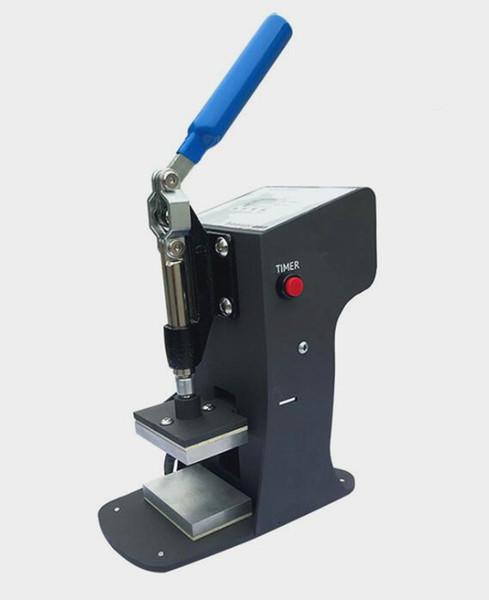 2019 hot cheap rosin press manual dual heat plates wax oil dab extract tool heat press machine for dry herb flower