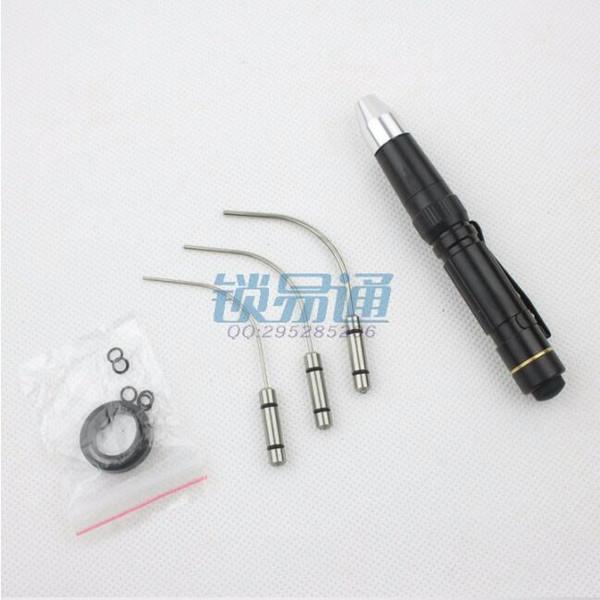 top popular Free Shipping Huk Mini Fiber Optic Light For Locksmith Tools With High Brightness For Car Locksmith Supply 2021