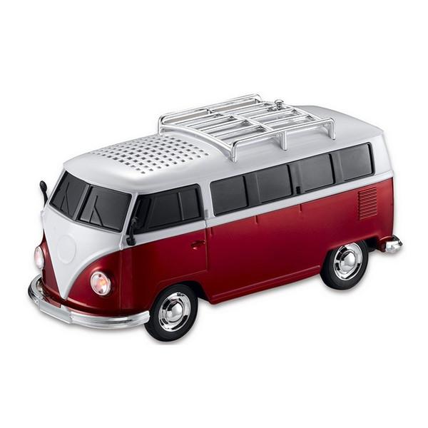 Haute qualité WS-266TB coloré mini bluetooth haut-parleur voiture forme mini bus haut-parleur soutien FM + U disque Insert Card mini haut-parleur lecteur MP3