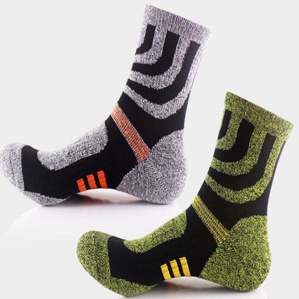 Men's Cotton Training Soccer Anti Slip Mid-calf Soccer Football Training Running Team Sports Socks #19754