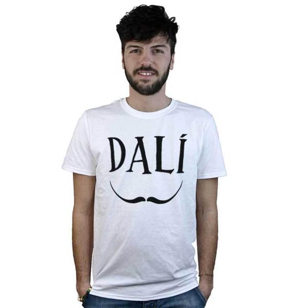 T-Shirt Salvador Dalì, eine Frau mit Baffi del Pittore, icona Surrealismo