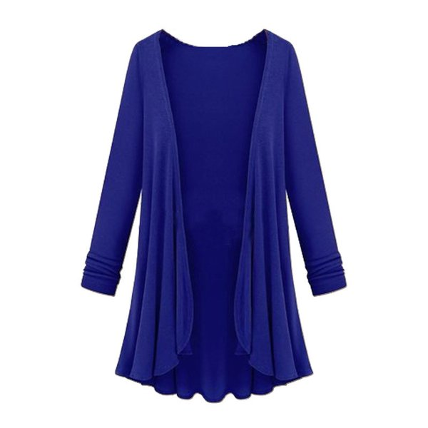 Fashion Cardigan Women Poncho Crochet Knit Tops Thin Long Sleeve Sweater Women Cardigans Spring Autumn